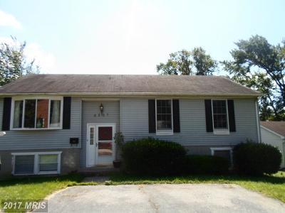 Landover Single Family Home For Sale: 6227 Otis Street