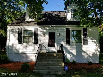 Temple Hills Single Family Home For Sale: 5108 Hagan Road