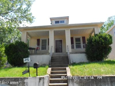 Prince Georges Single Family Home For Sale: 4937 Gunther Street