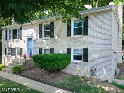 Clinton MD Single Family Home For Sale: $299,000