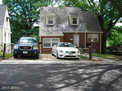 Suitland Single Family Home For Sale: 2414 Fairhill Drive