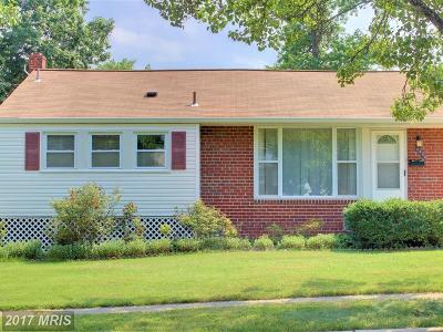 New Carrollton Single Family Home For Sale: 6434 Fairbanks Street