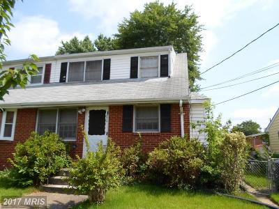Hyattsville Duplex For Sale: 2514 Van Buren Street