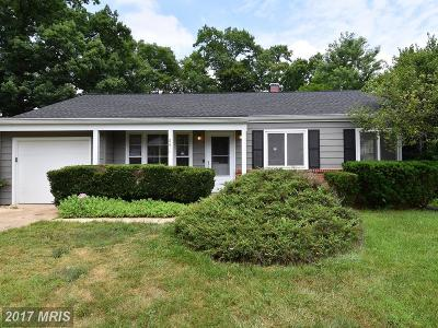 Laurel Single Family Home For Sale: 8614 Portsmouth Drive