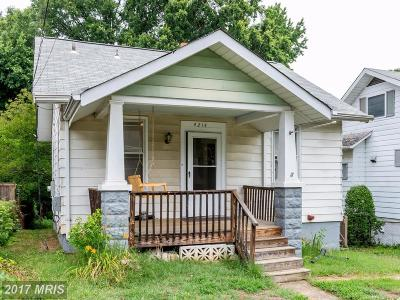 Hyattsville Single Family Home For Sale: 4214 Kennedy Street