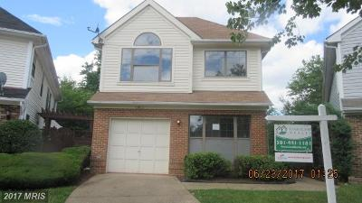 Bowie MD Single Family Home For Sale: $329,900