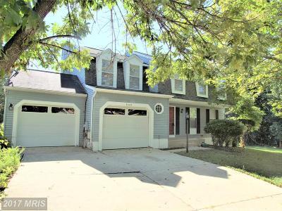 Lanham Single Family Home For Sale: 6405 Dahlgreen Court