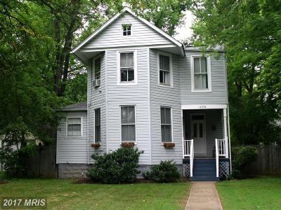 Hyattsville Single Family Home For Sale: 4106 Crittenden Street