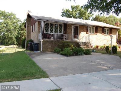 Beltsville Single Family Home For Sale: 4221 Howard Road