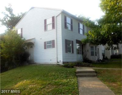 Suitland Townhouse For Sale: 4043 Silver Park Terrace