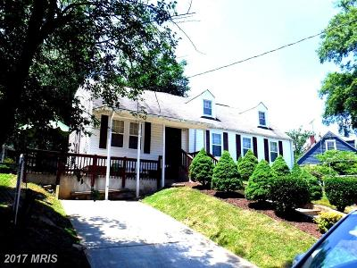 Hyattsville Single Family Home For Sale: 4402 72nd Avenue