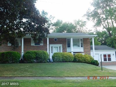 Upper Marlboro Single Family Home For Sale: 9703 Lemocks Drive
