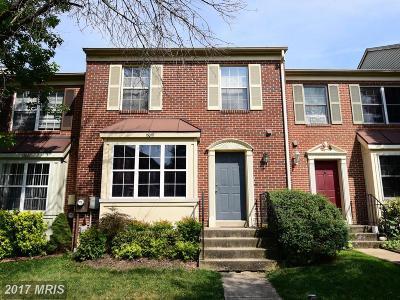 Laurel Townhouse For Sale: 15019 Courtland Place