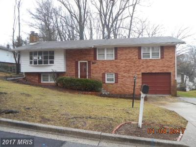 Temple Hills Single Family Home For Sale: 6005 Hope Drive