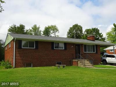 Temple Hills Rental For Rent: 6305 Claridge Road