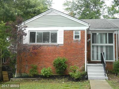 Hyattsville Duplex For Sale: 7011 Farragut Street