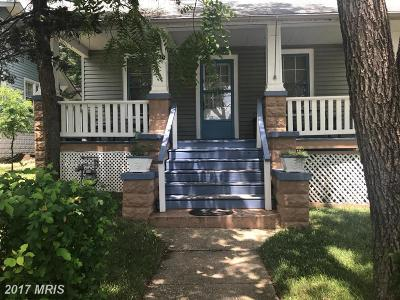 Hyattsville Single Family Home For Sale: 4230 Oglethorpe Street