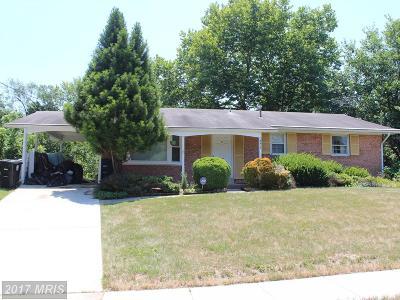 Beltsville Single Family Home For Sale: 4215 Howard Road