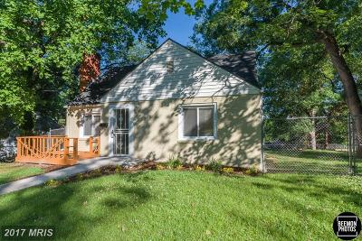 District Heights Single Family Home For Sale: 7008 Foster Street