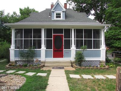 College Park Single Family Home For Sale: 4810 Fox Street
