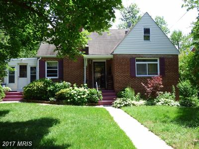 Hyattsville Single Family Home For Sale: 3415 Purdue Street