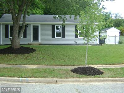 Upper Marlboro Single Family Home For Sale: 7211 Havre Turn