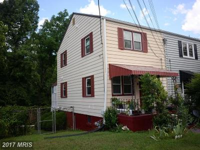 Landover Townhouse For Sale: 7204 Forest Road