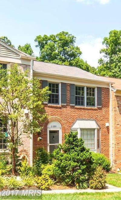 Prince William Townhouse For Sale: 11220 Edgemoor Court