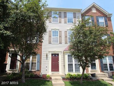 Prince William Townhouse For Sale: 9771 Maitland Loop