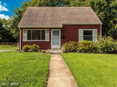 Manassas Single Family Home For Sale: 9317 Baker Street
