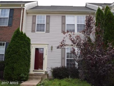 Bristow Townhouse For Sale: 9618 Innerwick Place