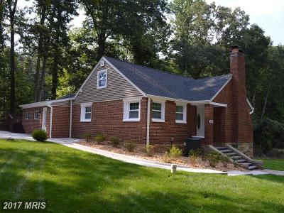 Manassas Single Family Home For Sale: 11450 Waterview Drive