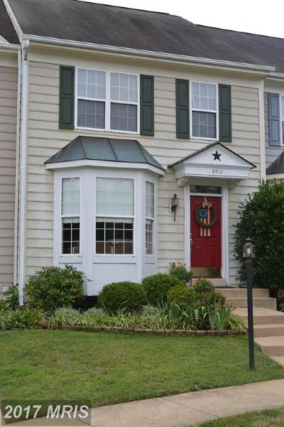 Bristow Townhouse For Sale: 8913 Moat Crossing Place