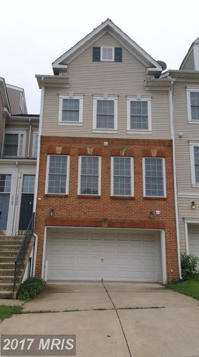 Bristow Townhouse For Sale: 12705 Gartney Lane