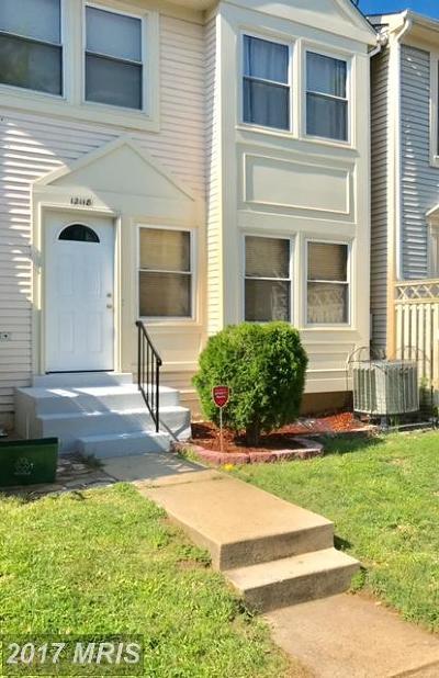 Woodbridge Townhouse For Sale: 12118 Salemtown Drive