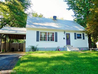 Woodbridge Single Family Home For Sale: 1810 Warren Drive