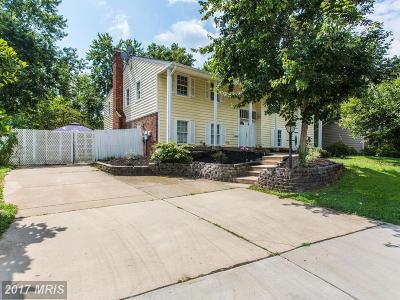 Manassas Single Family Home For Sale: 9819 Greenview Lane