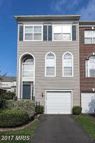 Bristow Townhouse For Sale: 9970 Shortbread Way