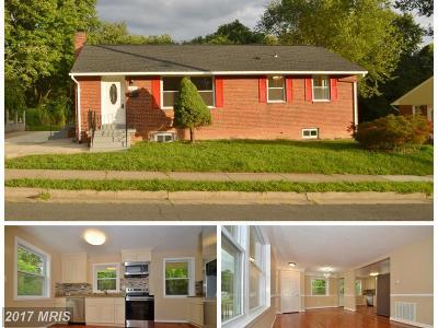 Woodbridge Single Family Home For Sale: 1417 Horner Road
