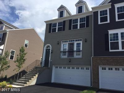 Manassas Townhouse For Sale: 8821 Englewood Farms Drive
