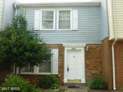 Manassas Rental For Rent: 10660 Meadow Grove Court