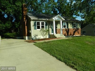 Woodbridge Single Family Home For Sale: 13211 Staggs Court