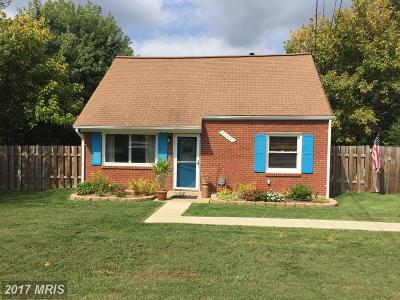 Manassas Single Family Home For Sale: 7602 Albemarle Drive