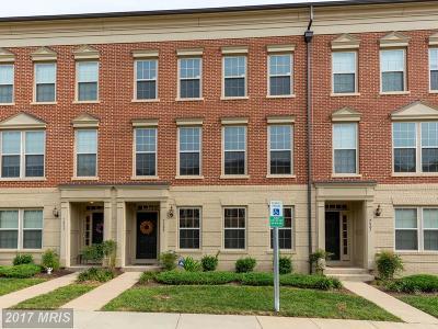 Gainesville Townhouse For Sale: 7805 Crescent Park Drive