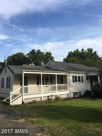 Manassas Single Family Home For Sale: 8315 Rolling Road