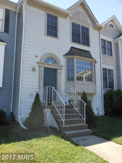 Prince William Townhouse For Sale: 10857 Campaign Court