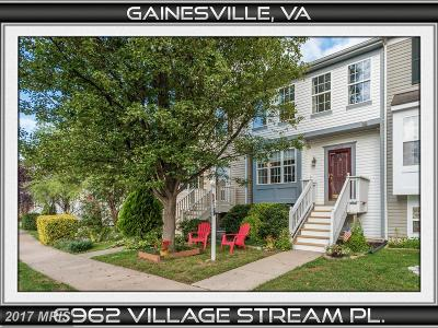 Gainesville VA Townhouse For Sale: $310,000