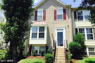 Dumfries Townhouse For Sale: 17404 Kagera Drive