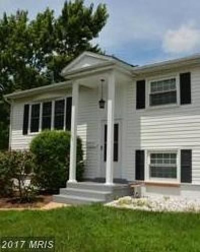 Manassas Single Family Home For Sale: 9554 Damascus Drive