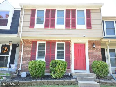 Dumfries Townhouse For Sale: 16154 Henderson Lane